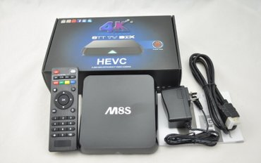 Android smart tv box m8s boks android  android box smart tv box proces - Beograd