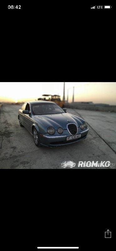 Jaguar в Бишкек: Jaguar S-type 1999