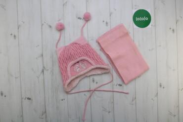 Дитячий комплект шапка і шарф Barbaras, 1-2 роки    Шапка Довжина: 22