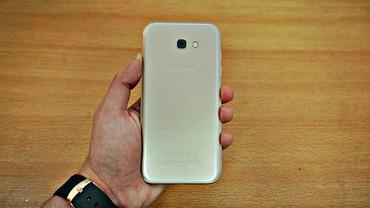 Б/у Samsung Galaxy A7 2017 32 ГБ Золотой в Бишкек