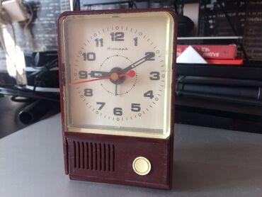 Антикварные часы - Кыргызстан: Часы будильник «Янтарь»