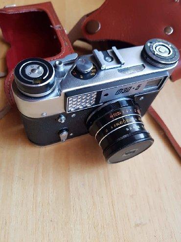 Fotoaparat marke Fed-5 potpuno nov, u kožnoj futroli