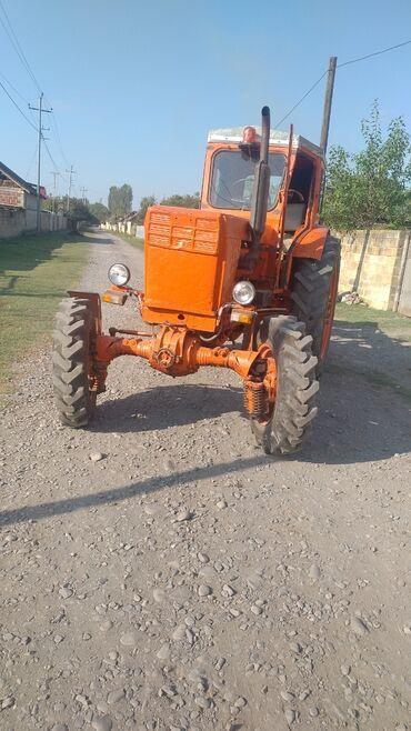 96 elan   NƏQLIYYAT: Traktor T 42 dir. Peredoklu islek vezyetde. Disqile. Birlikdə satilir