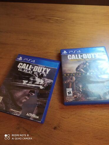PS4 (Sony Playstation 4) - Azərbaycan: Call OF Duty GHOST Və CALL OF Duty Advanced Warfare Advancer 1 dəfə