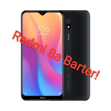 islenmis telefonlar qiymetleri в Азербайджан: Новый Xiaomi Redmi 8A 32 ГБ Черный