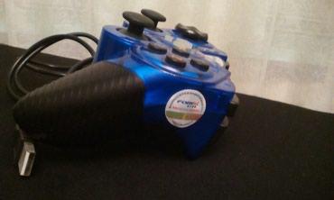 Продаю фирменный джойстик ,для видео игр с вибро, вход USB. в Frunze