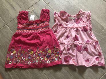 Dve haljinice za dete od god dana