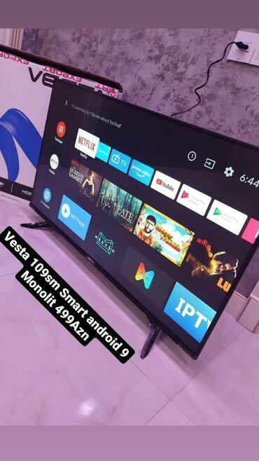 audi keçici - Azərbaycan: Vesta Monolit ekran 109sm 520AznSmart Android 9Daxilinde krosnaAtv