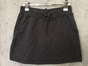 Svileni suknja - Srbija: NAME IT SUKNJICAVelicina 8 - 9 godgrafit sive bojeUnutrasnji lastis za