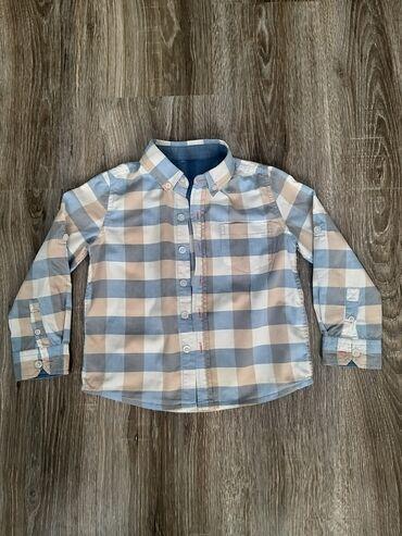 Рубашка 100%хлопок одевали два раза почти новое, покупали за