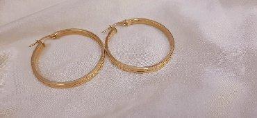 """Другие украшения - Кыргызстан: Серьги """"кольца"""" из жёлтого золота. 585 проба"""