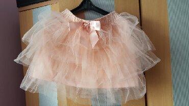 Decije haljine - Subotica: Suknjica za devojcicu XS vel.jednom nosena za priredbu