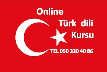 Onlayn Türk dili kursları Karantin günlərində evdə boş-boş internetdə