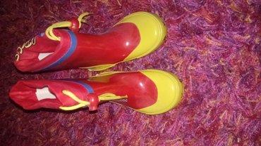 Ciciban gumene čizme br. 22 sa antomskim uloskom - Loznica - slika 2