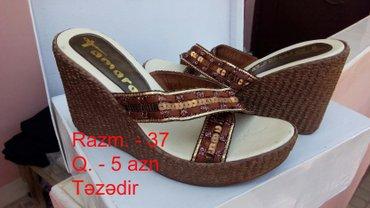 dəri sabolar - Azərbaycan: Təzə sabo,37 razmer,7azn