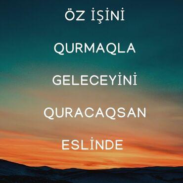Dübəndida: Şəbəkə marketinqi məsləhətçisi. Təhlükəsiz biznes. 18-29 yaş. Natamam iş günü