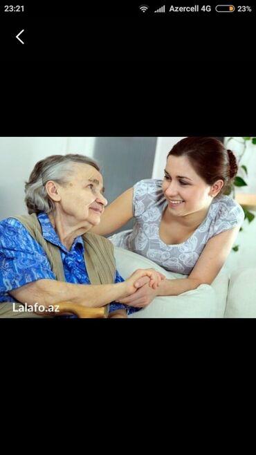 xesteye baxici teleb olunur в Азербайджан: Evinde xesteye baxmaq(qadın olsun),evinde yemek bisirmek,usaqa baxmaq