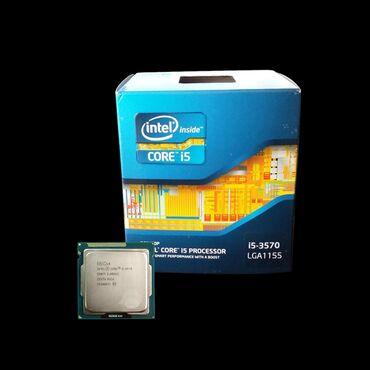 процессор-с-материнской-платой в Кыргызстан: Продаю комплект процессор i5 3570. 3.4 MHz. Boost 3.8 MHz. 4 ядра 4