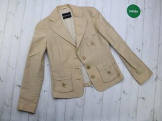 Женский пиджак с накладными карманами Emporio Armani   Длина: 58 см Пл
