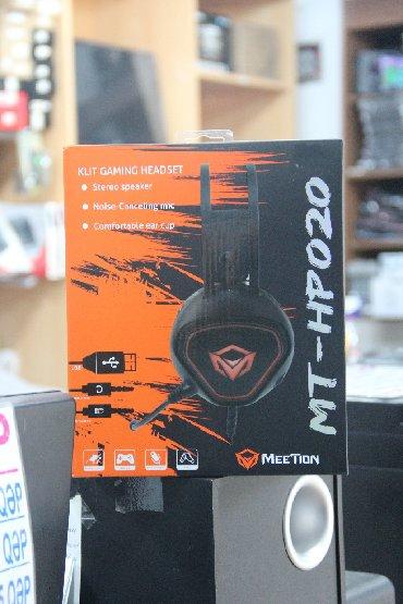 Model: MeeTion MT-HP020 Səs: 10-20000 Mhz, 32 Om Qoşulma: USB/3.5mm ja