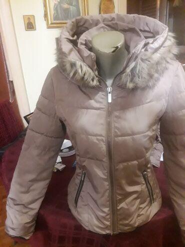 Zimske jakne sa krznom - Srbija: DIVNA BEZ ZIMSKA JAKNA,BEZ MANE,PRELEPA,SA KAPULJACOM I