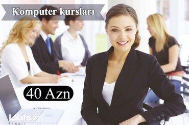 Bakı şəhərində Peşakar kompyuter kursları!!!!! ! ! ! ! ! ! ! Dərslər 10illik