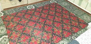 Текстиль - Кыргызстан: Жууркан төшөкжурканжуркан таза пактадан тигилген . Одеяло из
