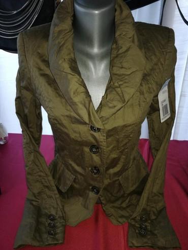 Nov ženski sako, prelep tanji materijal iz Švajcarske. Pogledajte - Vrnjacka Banja