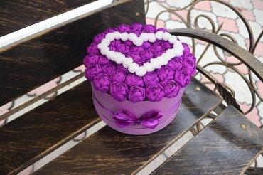 Красивые цветы ручной работы в Бишкек