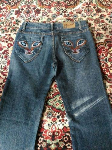Утепленные женские джинсы клеш в в Бишкек