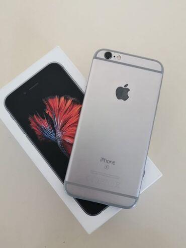 10177 elan | MOBIL TELEFON VƏ AKSESUARLAR: IPhone 6s | 64 GB | Boz (Space Gray) İşlənmiş | Barmaq izi
