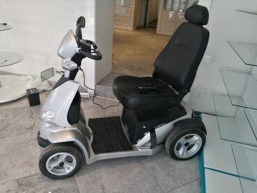Elil - Azərbaycan: Elektro skuter - Elektrikle isleyen elil arabasiyerimekde probli olan