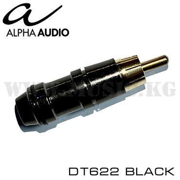 Разъем RCA Alpha Audio DT622 BlackТехнические характеристики Alpha