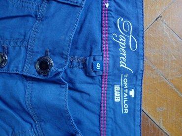 Pantalone tom tailorbroj - Srbija: Tom Tailor pantalone 3/4,velicina 40 vrlo malo nosene.Boja je malo