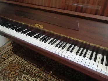 пианино бишкек in Кыргызстан | ПИАНИНО, ФОРТЕПИАНО: Пианино geyer немецкое (гдр) 2 педали. Механизм в отличном состоянии