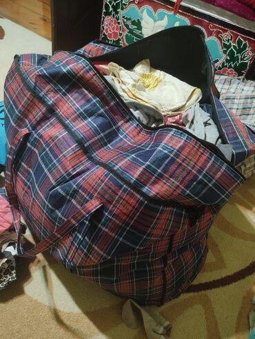 500сом Огромная сумка вещей мужской и женский. Муж(класические брюки,с