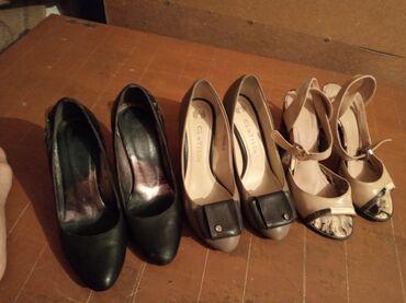 Женская обувь в Беловодское: Продаю женские туфли на каблуках все вместе 500 с обр.по тел есть