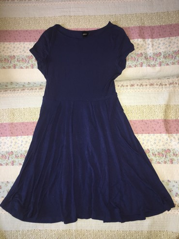 Asos синее платье, размер: 38, состояние отличное