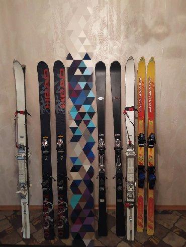 Лыжи в Кыргызстан: Лыжи для фрирайда /для скитура и для трассы  цены от 5000 сом до 500
