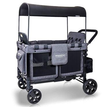 multi functional в Кыргызстан: WONDERFOLD W4 4 Seater Multi-Function Quad Stroller Wagon