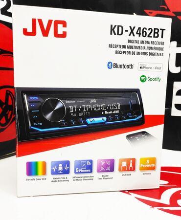 Jvc kd-x 462 bt отличная новая модель от компании jvc. Цифровой