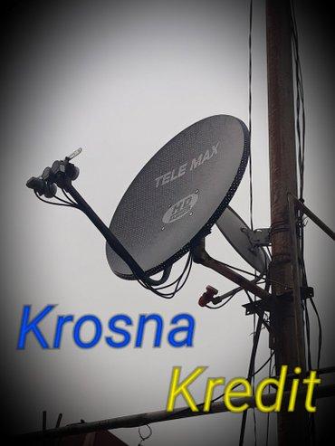 Bakı şəhərində Krosna krosnu antena. Rayon qeydiyyatında olan şəxslərədə kredit