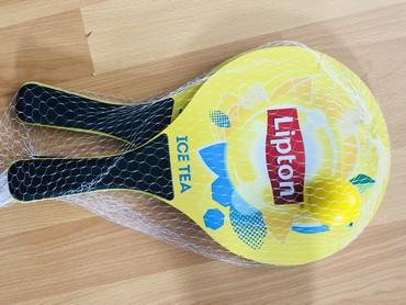 Sport i hobi - Smederevo: Reketi za plazu sa lopticom br.1, uvoz Svajcarska