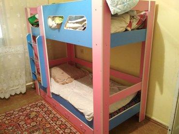 Продам двухярусную кровать от 3х до в Бишкек