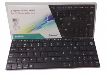Bakı şəhərində Mini bluetooth klaviatura. Tv, telefon,kompyuter pc, noutbuk ve blutuz