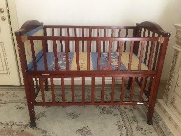 usaq ucun iki mertebeli kravat в Кыргызстан: Кроватка детская с рождения до 6 лет подойдёт,в хорошем состоянии