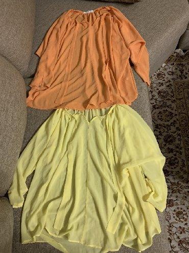 свободная рубашка в Кыргызстан: Продаю новые блузки по 600с, размер-оверсайз( свободный размер с M по