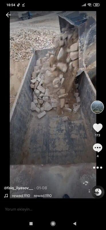 Услуги - Кобу: Şaqman ile atval karbanat daş tozu ve yükelerin daşinmasi sadece ela