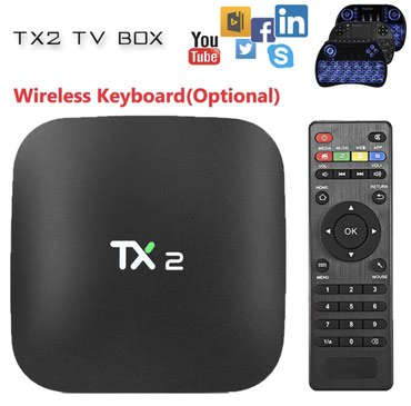 Tx2 quad core android smart tv box 2gb ram, android 7. 01 android - Beograd