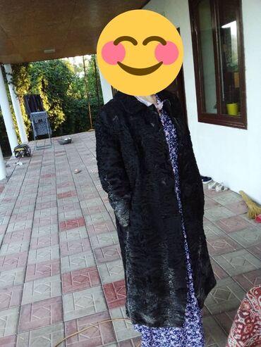 Личные вещи - Кызыл-Туу: Дубленка оригинал Настоящий каракуль. Размер 46-47
